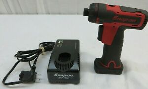 Snap On Cts761 14 4v 1 4 Screwdriver W 2 0 Ah Battery Charger