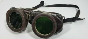Vintage Willson Safety Glasses Welding Goggles Cutting Glasses Steampunk