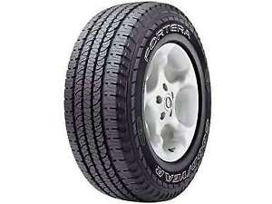 4 New P245 65r17 Goodyear Fortera H l Tires 245 65 17 2456517
