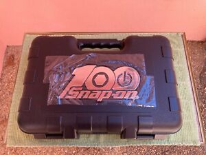 Snap on 100th Anniversary Ed 100pc 1 4 Drive Socket Ratchet Case With Foam Inse