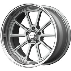 18x10 Silver Wheel American Racing Vintage Draft Vn510 5x4 5 0