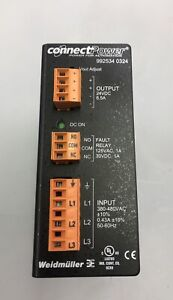 Weidmuller Connect Power 992534 0024 Power Supply