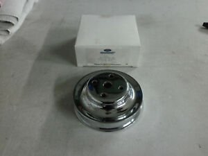 Nos 79 86 Ford Mustang Gt 5 0 302 V8 Factory Chrome Motorsport Water Pump Pulley