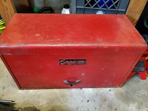 Vintage Snap On Tools Top Chest Machinist Tool Box Cabinet