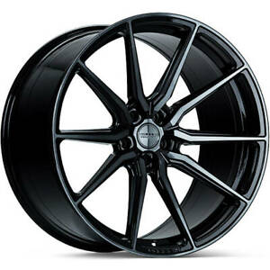 4 Staggered 19x8 5 19x9 5 Vossen Hf3 Black Tint 5x112 30 35 Wheels Rims