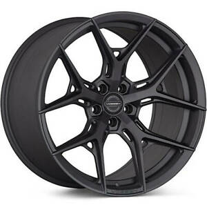 4 Staggered 21x9 21x10 5 Vossen Hf5 Gray 5x112 32 30 Wheels Rims