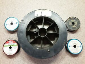 Lot Of 5 Spools Welding Wire Lincoln Blue Demon Harris Welco Sanovik New Used