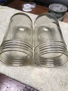 Lot Of 2 Crouse Hinds Explosion Proof Industrial Light Globe V 75