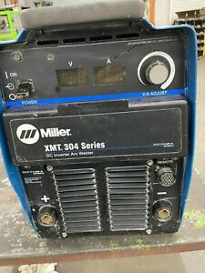 Miller Xmt 304 Series Arc Welder