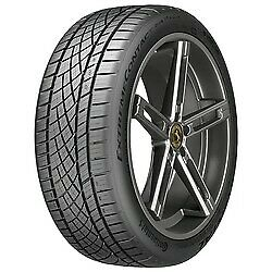 2 New 245 50zr17 Continental Extremecontact Dws06 Plus Tire 2455017