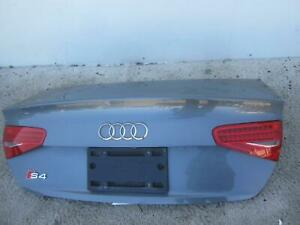 2013 2016 Audi S4 Trunk Lid Sedan Integrated Spoiler Led Light Opt 8sl Oem 2014