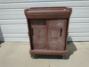 Cortec Chuckwagon Jr Insulated Food Tray Delivery Cart W Trays