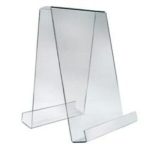 Store Display Fixtures New Acrylic 9 w X 14 h Double Sided Acrylic Easel