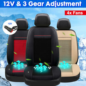 12v Cooling Comfortable Car Seat Cover Cushion Air Ventilated Fan Cooler X z
