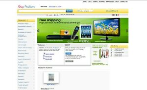 Auction Website Ebay Clone Free Hosting And Installation