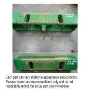 Used Weight Bracket Compatible With John Deere 8200 8400 8300 8310 8100 8210