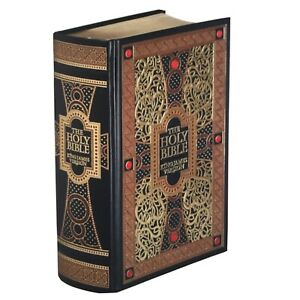 the Holy Bible King James Verson Gustave Dore Illustrated Leather Bound New