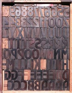 Wood Type Letterpress