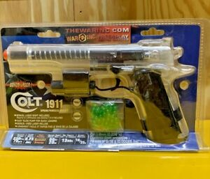Colt 1911 Spring Powered Airsoft with laser $39.99