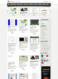 Clickbank Affiliate Store Website Fully Autopilot And Customizable Free Host