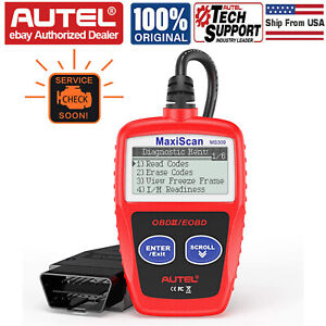 Autel Maxiscan Ms309 Obd2 Scanner Auto Fault Code Reader Engine Diagnostic Tool