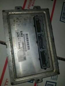 02 Dodge Dakota 3 9 At Ecm Ecu Module Pcm 56040302ac