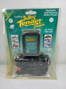 Battery Tender Junior Jr Maintainer Motorcycle Charger Deltran 12 Volt 750ma