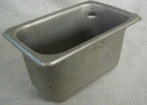 Restaurant Equipment Supplies 3 Stainless Steel Steam Table Pans 1 9th Size 4