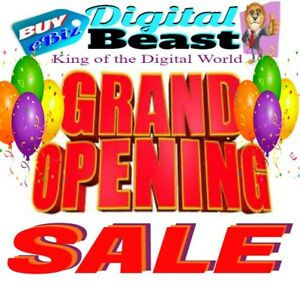 Digital Products reseller Hosting turnkey Blogs software video grand Sale On Now