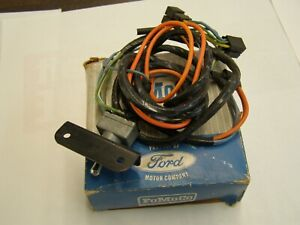 Nos Oem Ford 1966 Mustang Galaxie Falcon Fairlane 4 Way Flasher Switch Wiring