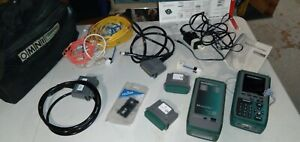 Used Fluke Microtest Omni Scanner 2 Remote 2 Digital Cable Analyzer Certifier