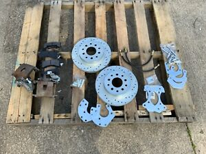 Right Stuff Zdcrd02 Ford 9 Rear Disc Brake Conversion Kit Drilled Slotted