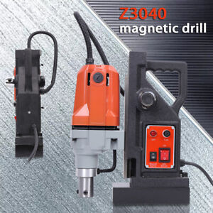Md 40 Electric Magnetic Drill Press 50mm Boring Annular Cutter 12 000 N
