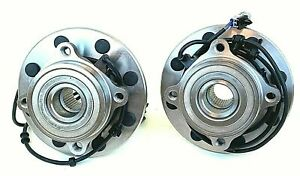 Front Wheel Hub Bearings For Dodge Ram 2500 3500 4x4 With Abs 00 02 515063 359