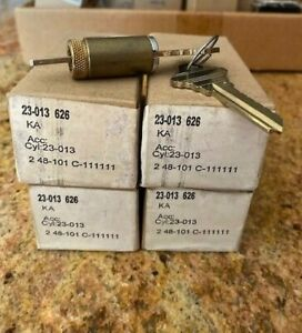Schlage 23 013 626 Commercial Cylinder For Schlage Chrome Lot Of 4