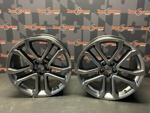 2020 Ford Mustang Gt Oem Pair Of Two 20x9 Wheels Rims