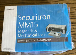 Securitron Electromechanical Door Maglock Mm15dt Magnetic Lock Stainless Mm15
