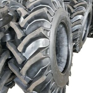 2 tires No Tubes 14 9 28 Knk50 8 Ply Rear Tractor Tires 14 9x28 Backhoe