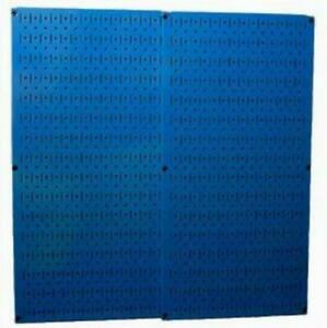 New Wall Control Blue Metal Pegboard Pack 30 p 3232bu Magnetic Panel