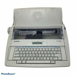 Brother Ml500 Standard Electric Typewriter W Keyboard Cover Tested And Works