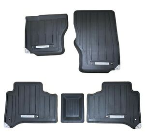 Range Rover F405 Lhd 2018 All Weather Rubber Floor Mats New Oem