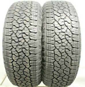 Two Used 275 60r20 2756020 Goodyear Wrangler Trail Runner At 9 5 10 32 1m422