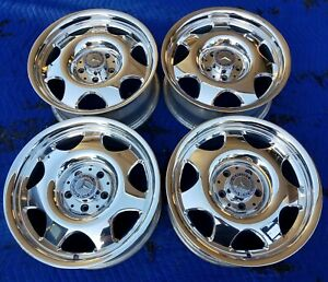 Mercedes A208 Clk Oem Date Matched Forged Fuchs 16x7 5x112 Polished Wheels Rims