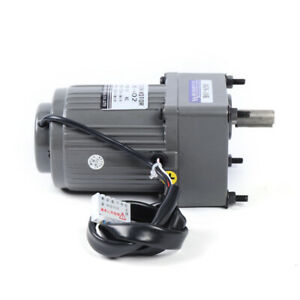 110v Gear Motor Electric Motor Variable Speed Controller Reduction Ratio 1 10