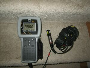 Ysi 550a Dissolved Oxygen Meter Instrument w cable Probe powers On Untested