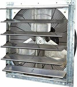 Ilg8sf24v Wall Mounted Exhaust Fan 24 Variable Silver