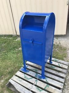 Vintage Post Office Mail Drop Box 1997