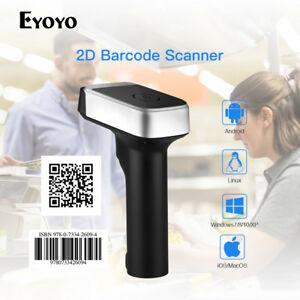 Handheld 3 In 1 Wired Bt4 0 2 4g Wireless 2d Barcode Scanner For Pc Computer