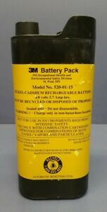 3m 520 01 15 Nickel cadmium Battery For Breathe Easy Papr System
