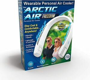 Arctic Air Freedom Personal Air Cooler Purifier 3 Speed Light Weight Cordless